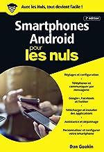 Smartphones Android pour les Nuls poche, 2e édition de Dan GOOKIN