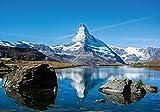 PICSonPAPER Poster Matterhorn Schweiz, 100 cm breit x 70 cm