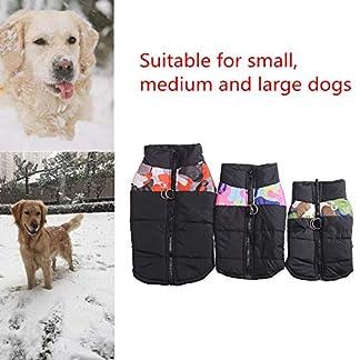 Amphia-Hunde-WeihnachtenHaustier-Hund-Gesteppte-Skianzuggre-Mittlerer-Hund-Haustier-Hund-Mantel-Jacke-Heimtierbedarf-Kleidung-Winter-fr-Kleine-mittelgroe-Hund
