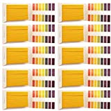 Limeo Lackmuspapier PH-Testpapier Testpapier pH-Indikator lackmuspapier fruchtwasser lackmuspapier für boden lackmuspapier teststreifen lackmuspapier boden pH-Wert-Bereich(10 insgesamt)