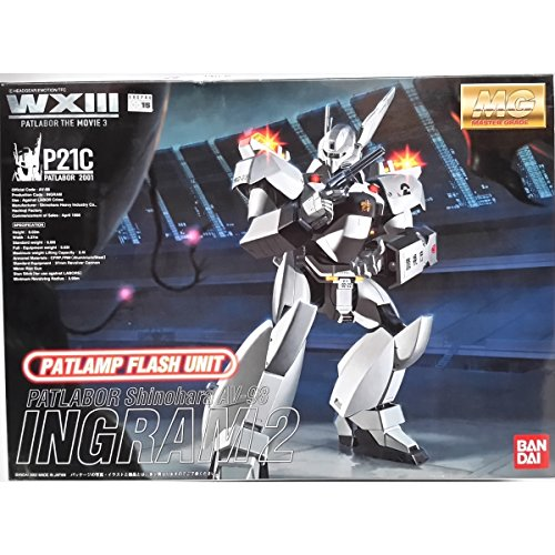 BANDAI P21C INGRAM 2 PATLABOR Patlamp Flash Unit MG MODEL KITS 1/35 -