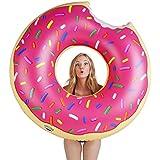 Bigmouth Inc Donut gigantesque piscine Float (Fraise givré avec Sprinkles)