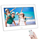 7 Inch Digital Photo Frame, NAPATEK 1024x600 High Resolution LED IPS Screen Electronic