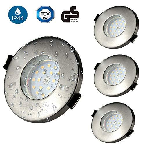 Focos Empotrables GU10 LED Baño IP44 Kambo 6W Equivalente