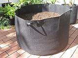 500L?Ø103x 60cm Sac de plantation avec poignées Sac de plantation Casseroles Grow Bag Plant Pot Plate-bande surélevée