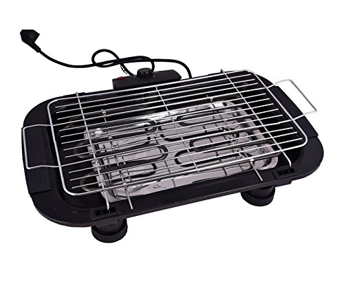 Electric Barbeque Grill Tandoor for Outdoor / Indoor Cooking (Black)  available at amazon for Rs.999