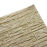 Le papier peint de mousse de PE de brique de la mode DIY 3D lambrisse la décoration...
