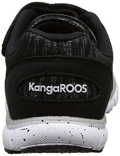 KangaROOSNuri - Sneaker Unisex - Bambini Nero (Noir (Black 500/Zebra))
