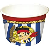 Yo Ho Disney Jake and the Never Land Pirates Ice Cream Tubs, Pack of 8