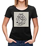 Photo de Never Stop Exploring T-Shirt   Traveler T-Shirt   Smart   Motivation   Good Vibes T-Shirt   Dreamer Tee   Inspirational Woman t-Shirt Black par Kris Talas