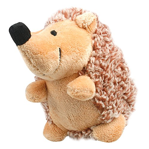 Dog-squeaky-toys-oneisall-Pet-Plush-Squeaking-Training-Chew-Puppy-ToyYellow-hedgehogM