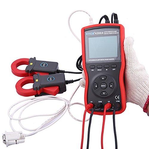 Mdz-tester Digital Intelligentes Doppelklemmen-Digitalphasen-Volt-Ampere-Meter ETCR4200A präzise -