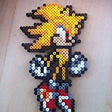 Pixel Art Perler Beads Porte Clé Pokemon Otaquin Amazon