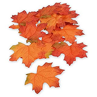 Maple Leaves, Autumn Leaves, Autumn Decoration, Pack of 16