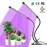 Pflanzenlampe YUNLIGHTS 18W 36 LED Pflanzenlichter 3 Automatisch Timer(3H/6H/12H), 5 Stufen Helligkeit, 360°Einstellbar für Zimmerpflanzen,...