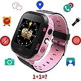 Best montre intelligente - TDH enfants montre intelligente GPS, 1.44 pouce tactile Review