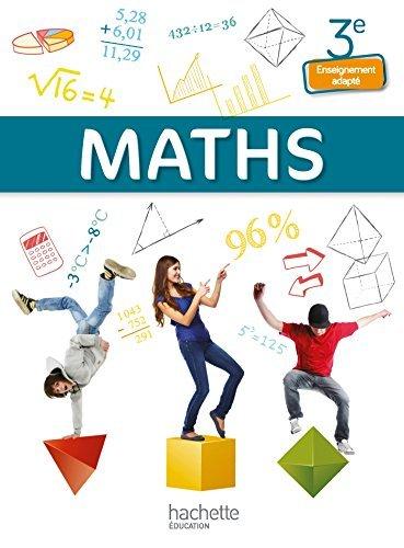 Mathématiques 3e Enseignement adapté - Livre élève - Ed. 2014 by Jean-Louis Berducou (2014-06-18)