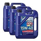 3x LIQUI MOLY 1073 Touring High Tech Diesel-Spezialöl 15W-40 MB-Freigabe 228.3