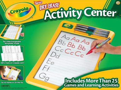 dry-erase-activity-center-w-4-bullet-tip-markers-eraser-sold-as-1-each