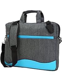 """VanGoddy Wave Série sac d'épaule en nylon pour Ordinateur portable / mallette portable pour Ordinateur Portable 15,6"""" Pouces"""