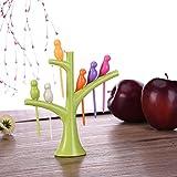 Vogel Baumstamm Obstgabel Fruchtgabel Kuchengabel Dessertgabel Kreative Essgeschirr LianLe