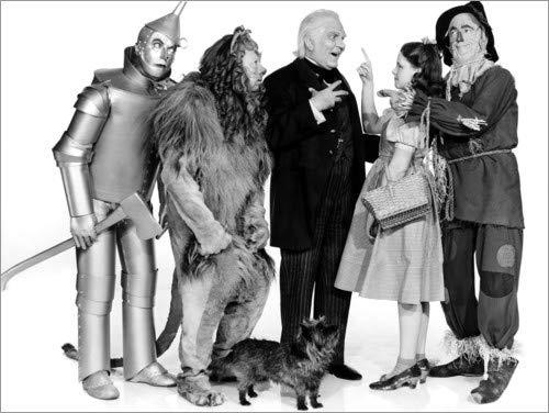 Der Zauberer von Oz von Everett Collection - hochwertiger Kunstdruck, neues Kunstposter ()