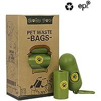 Baby Paw Pet Poop Bolsas 260 unidades 13 rollos de bolsas de basura para perro bolsas de perro con dispensador gratuito