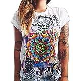 Kolylong Frauen Sommer Cool Fashion T Shirt