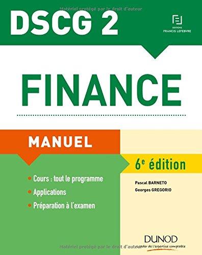 DSCG 2 - Finance - 6e éd. - Manuel