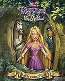 Disney: Rapunzel mit Kippbild: Buch zum Film