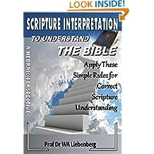 Scripture Interpretation: A Hebraic Understanding
