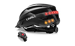 LIVALL MT1 Smart Bike Helmet , Cycling Mountain Bluetooth Helmet, Built-in Mic, Bluetooth Speakers, Wireless Turn Signals Tail Lights Setting, SOS Alert, Safe & Comfortable for Adults & Teenagers 2018