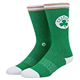 Stance Socken – Nba Boston Celtics Everyday Light Cushion Jersey grün/weiß/braun Größe: 43 bis 46 EU I 9-11.5 USA I 8.5-11 UK