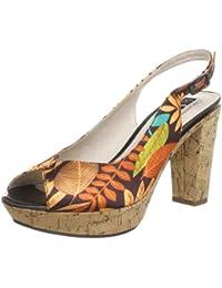 Queens HCL2202 brown 2408200 - Sandalias para mujer