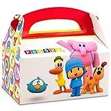 Pocoyo Empty Favor Boxes (4) by BirthdayExpress
