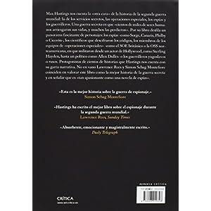 La guerra secreta: Espías, códigos y guerrillas, 1939-1945 (Memoria Crítica)