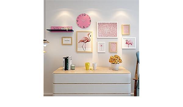 GMM® Bilderrahmen Wand Kombination Wohnzimmer Dekorative Malerei Modern  Einfache Wandaufkleber Restaurant Sofa Wand Boden Wandfarbe A: Amazon.de:  Küche U0026 ...