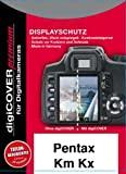 DigiCover Protection d'écran Premium pour Pentax K-m / K-x