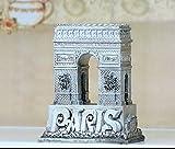 Gipin Punto di riferimento francese Arco di trionfo Lion Resina Artigianato Accessori Arco di trionfo Arredamento per la casa Modello europeo (Color : Color: As Shown In Figure)