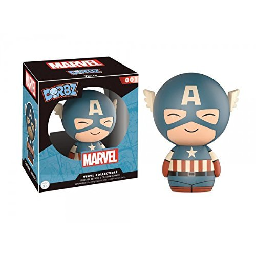 Funko - Figurine Marvel - Captain America Sepia Exclu Dorbz 8cm - 0889