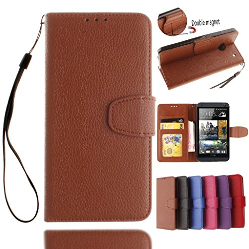 htc-one-m7-case-with-free-tempered-glass-screen-protectorw-pigcase-solid-color-pu-leather-case-with-