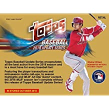 Topps 2018 Baseball Update Series Retail Display Box