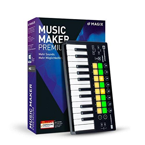 MAGIX Music Maker – 2017 Performer Edition – Das Komplettpaket für die Musikproduktion: Musikprogramm und USB-Pad-Controller.