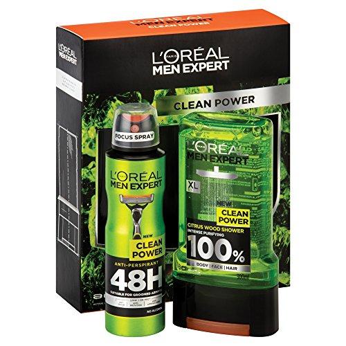 Men Expert Shower LOreal Men Expert Clean Power Gift Set
