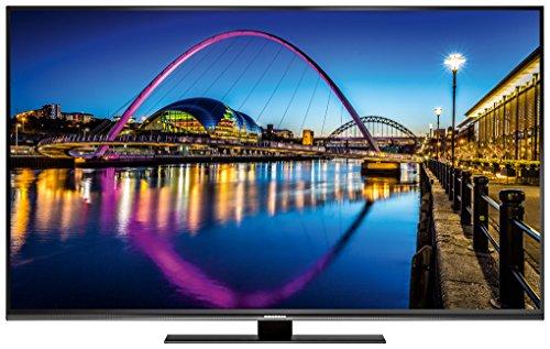 Grundig 49GUB9890 123 cm (49 Zoll) LED-Backlight-TV (Ultra-HD, 3840 x 2160 Pixel, 1900 VPI, Dual Triple Tuner (DVB-T2 HD/C/S2), Smart TV), Schwarz