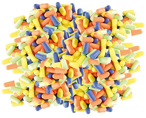 newgen medicals Gehörschutzstöpsel: Gehörschutz-Ohrstöpsel, 400 Stück in 4 Farben, Dämmwert 33 dB (Gehörschutzohrstöpsel)