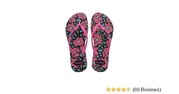 1fd3831558634f Havaianas Flip Flops Women Slim Floral  Amazon.co.uk  Shoes   Bags