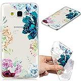 XCYYOO Coque Samsung Galaxy J2 Prime/Grand Prime plus/G532, Silicone Coque Anti-Choc Anti-Rayures de Housse Etui Protection Ultra Mince Souple Gel TPU Bumper Transparent Case Cover