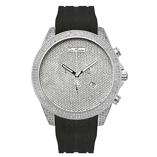Joe Rodeo Diamond orologio da uomo - Empire Silver 2.25 Ctw