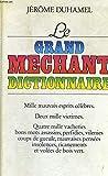 Le grand mechant dictionnaire